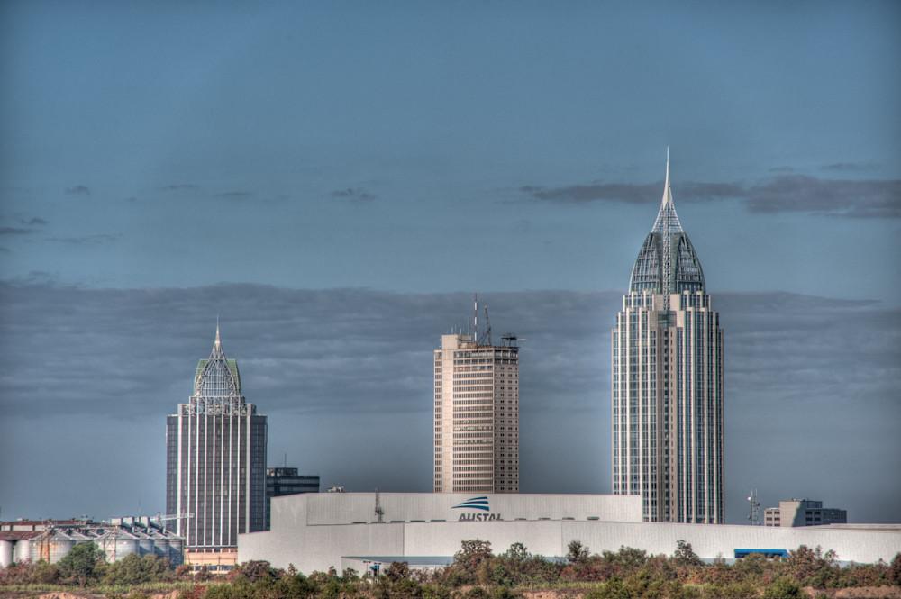 Mobile Alabama Skyline