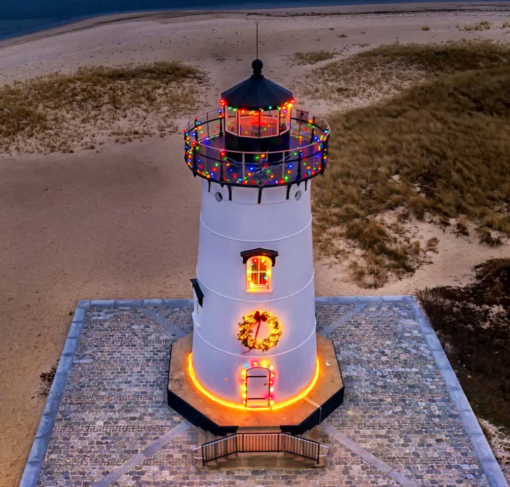 Edgartown Light Christmas 2018