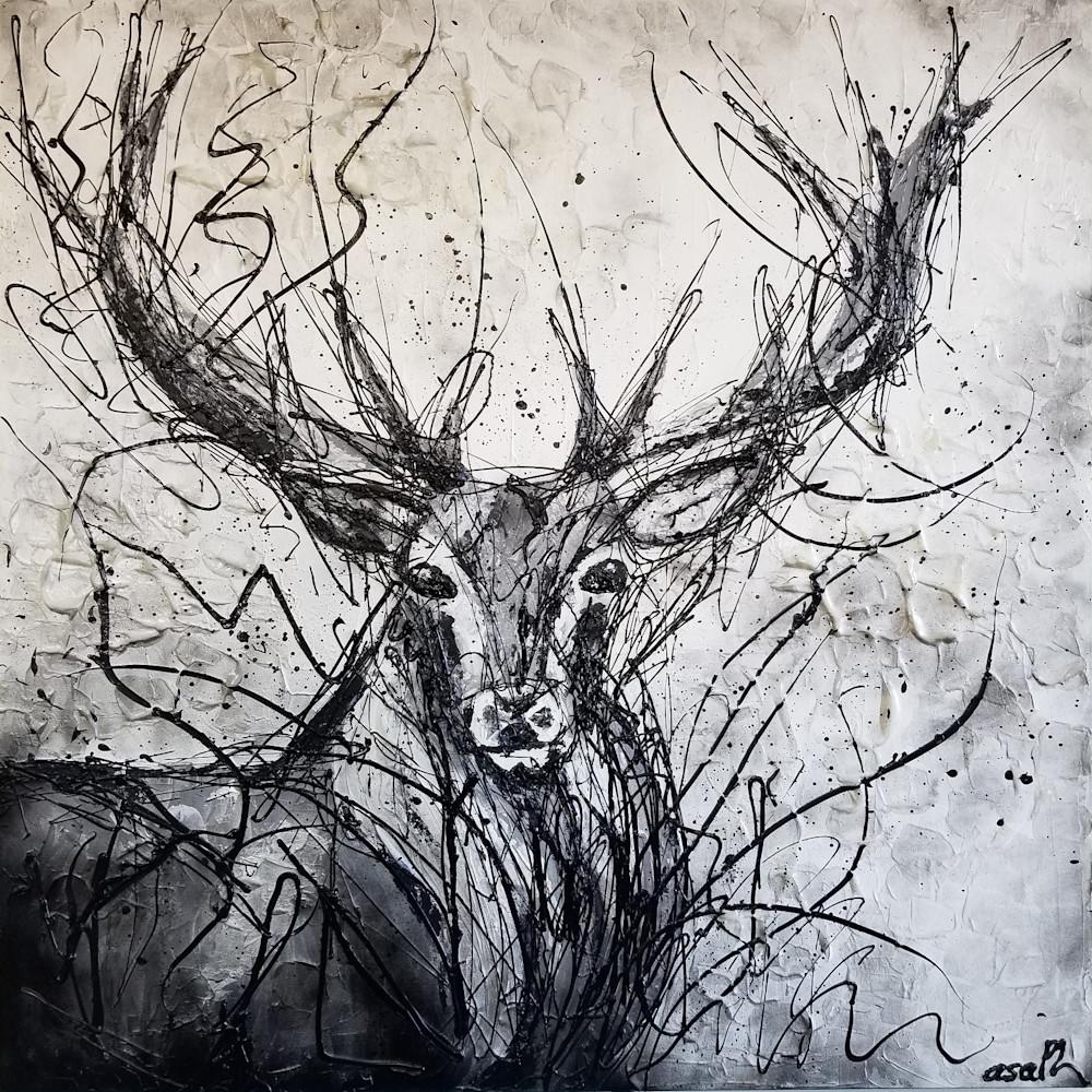 Deer Art | Asaph Maurer