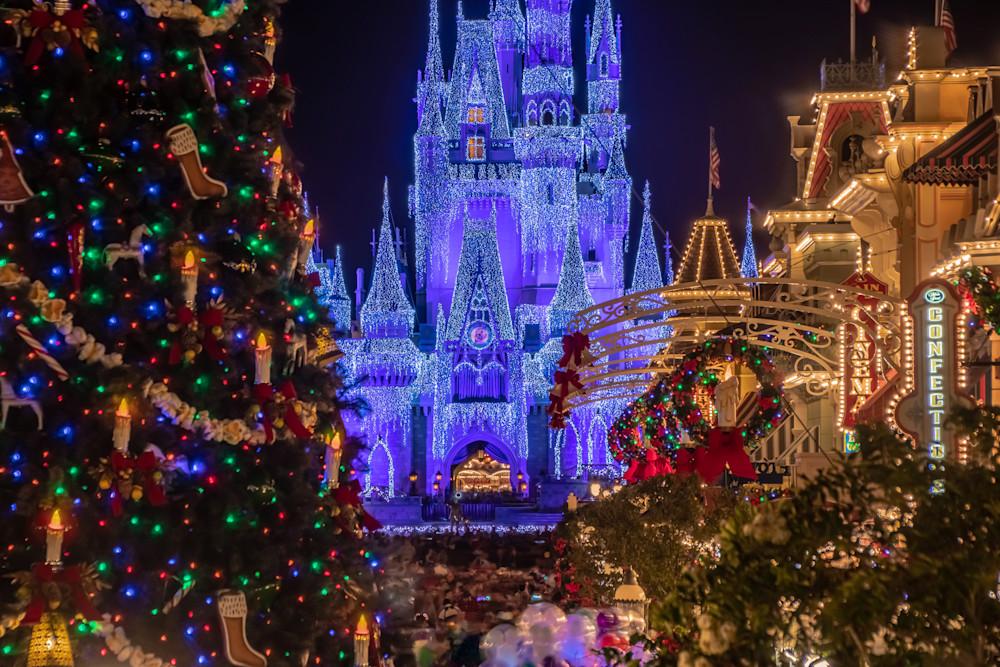 Disney's Magical Christmas Photograph - Disney Christmas Photos