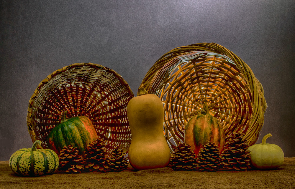A Fine Art Photograph of Romantic Fruit Collections by Michael Pucciarelli