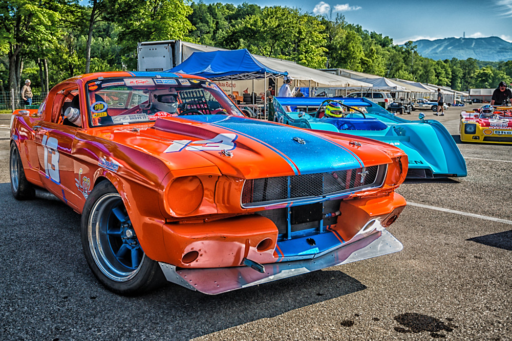 1965 Ford Mustang - Circuit - Mont Tremblant I