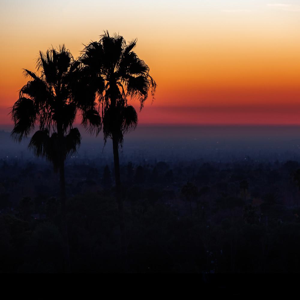 California Sunset Square Crop