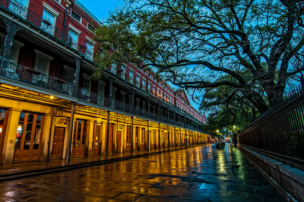 Jackson Square at dawn