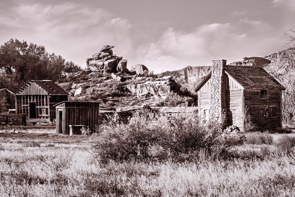 Castle Valley homestead Utah photography