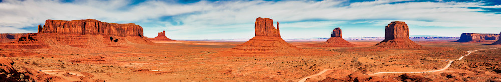 Monument Valley panorama photography