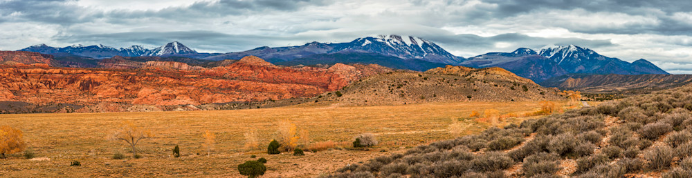 La Sal Mountains Utah photography
