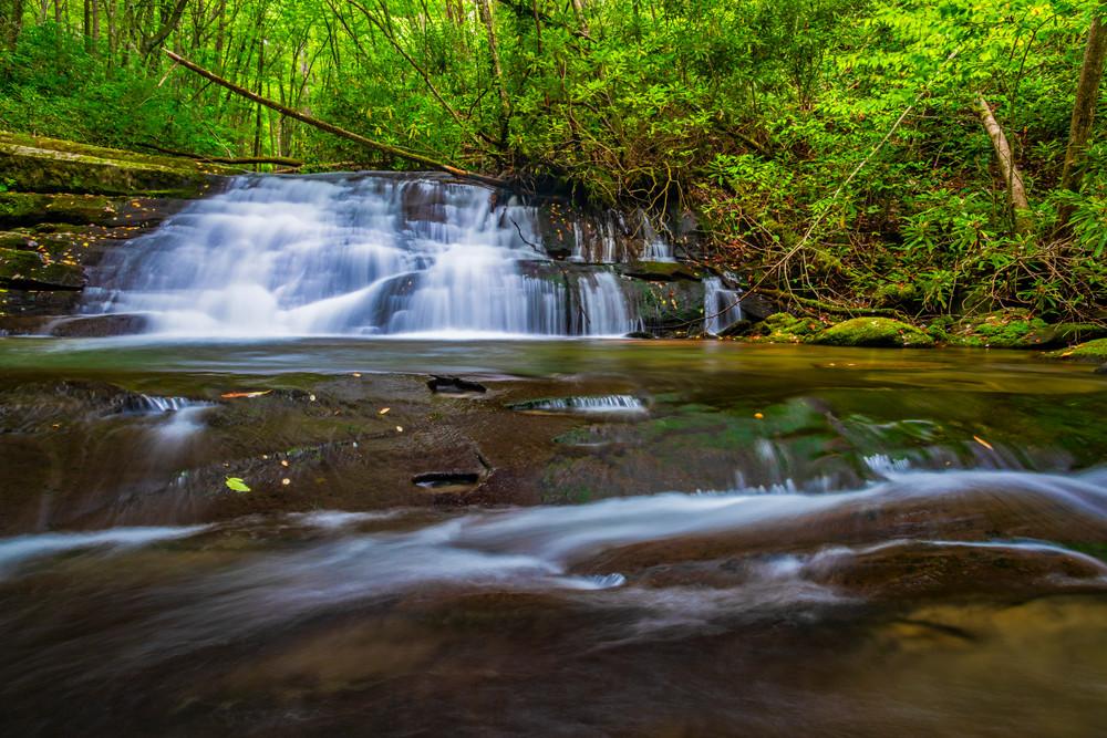 Hidden Smoky Mountain waterrfall