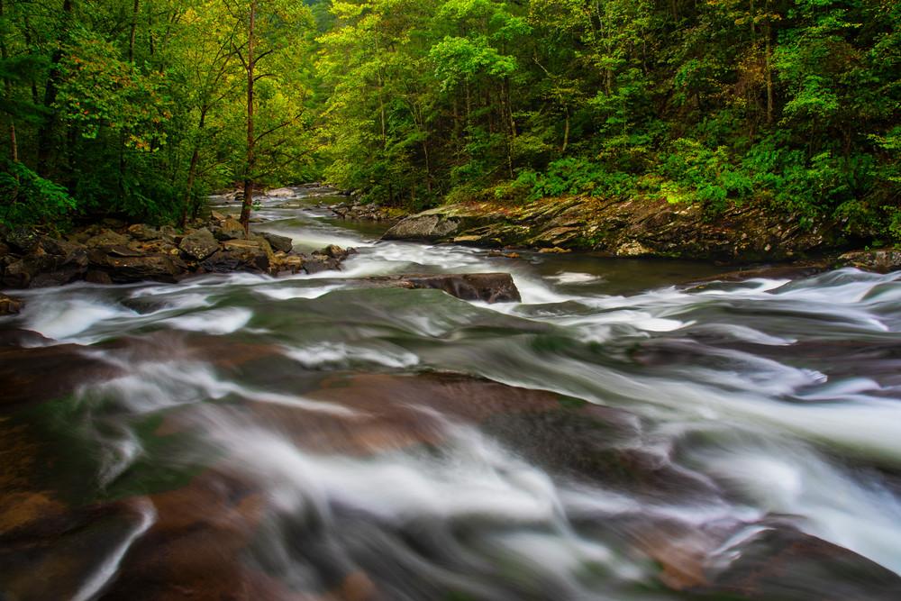 Tellico River Smoky Mountains photography