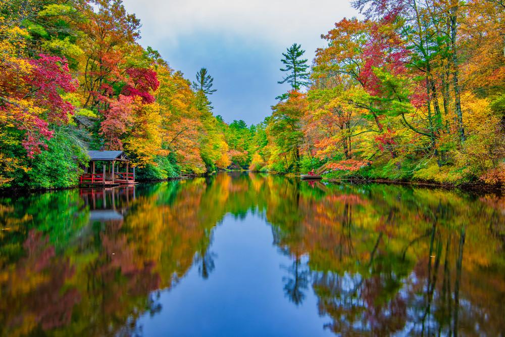 Smoky Mountains fall color photography