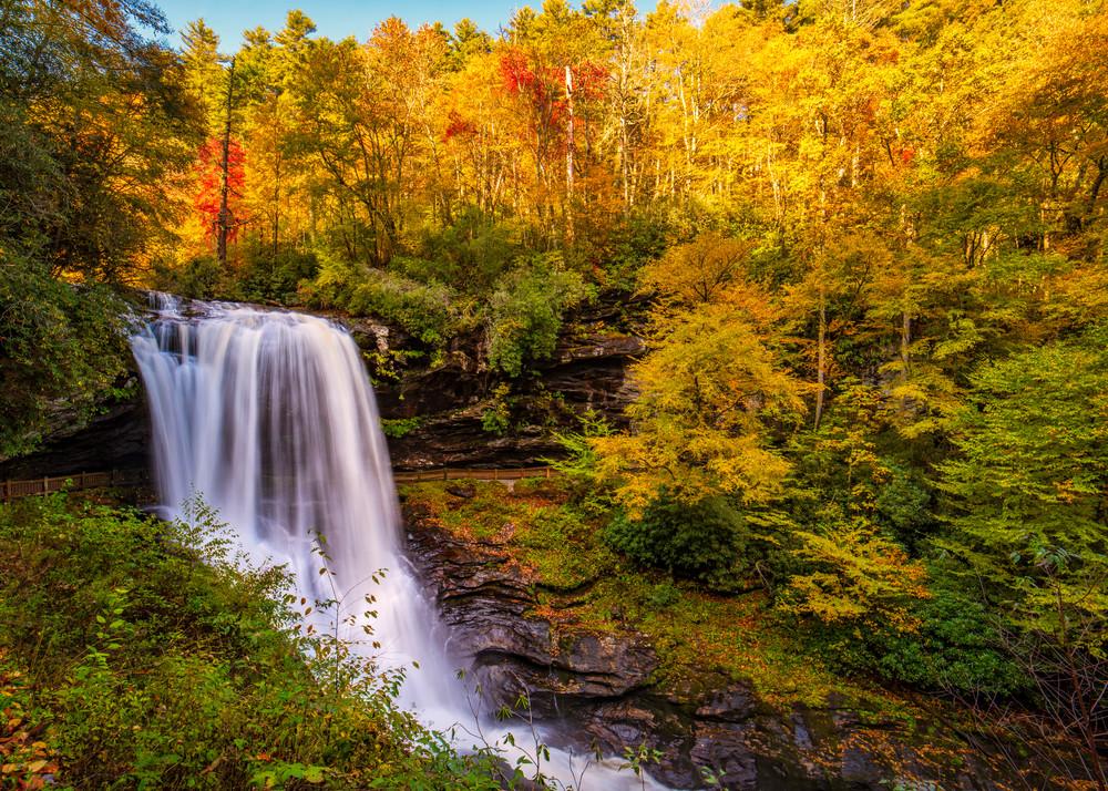 Cullasaja Falls photography