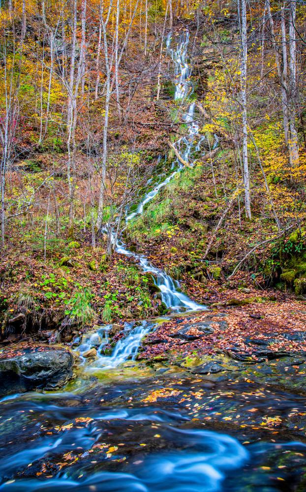 Holly Creek Kaymoor Trail waterfall hotography