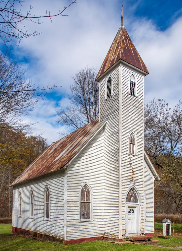 Mingo Methodist Church photography