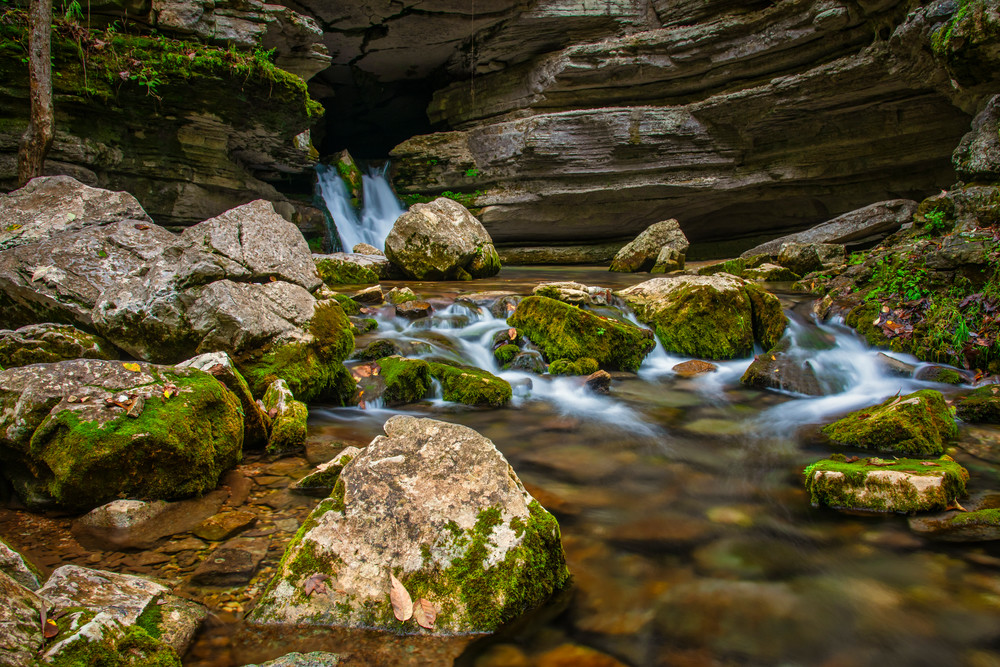 Blanchard Springs Ozarks photography