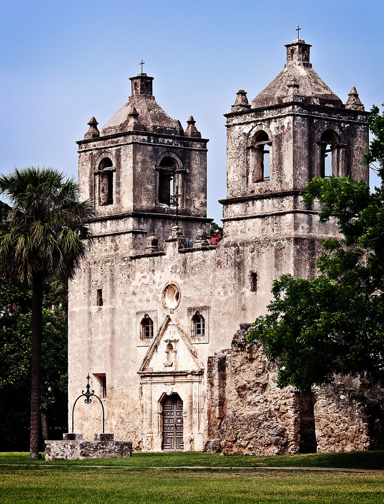 Mission Concepcion fine-art photography