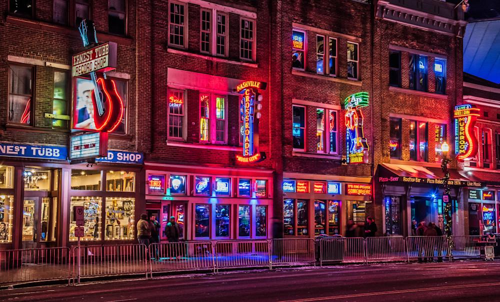 Music City Nashville lights photography