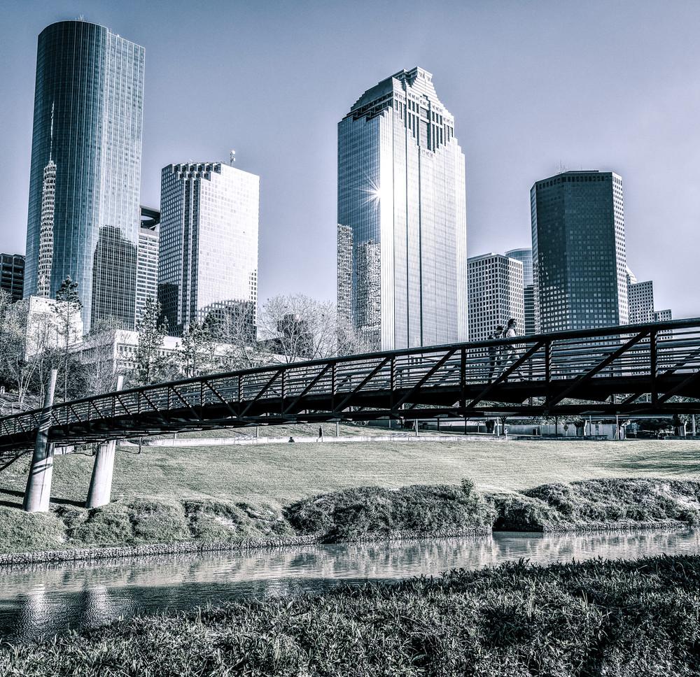 Sabine Promenade over Buffalo Bayou