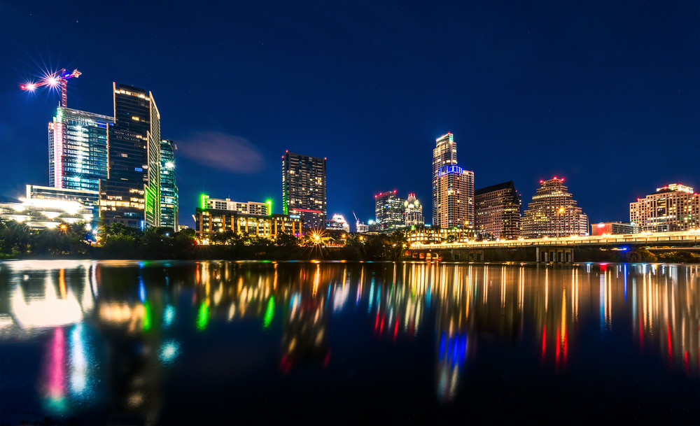Austin Texas skyline photography