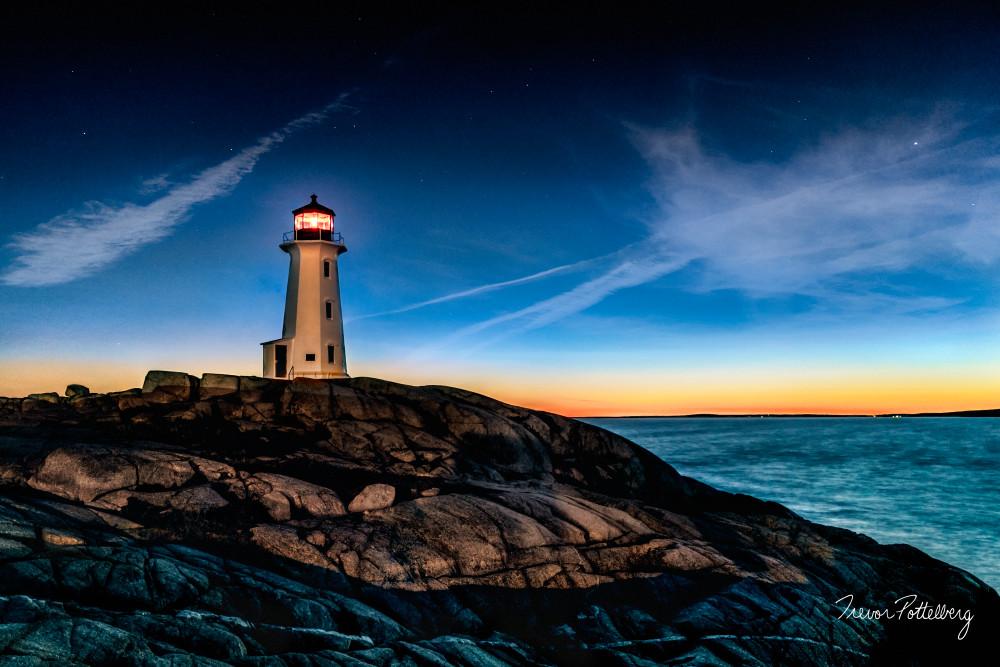 Twilight on the Rock