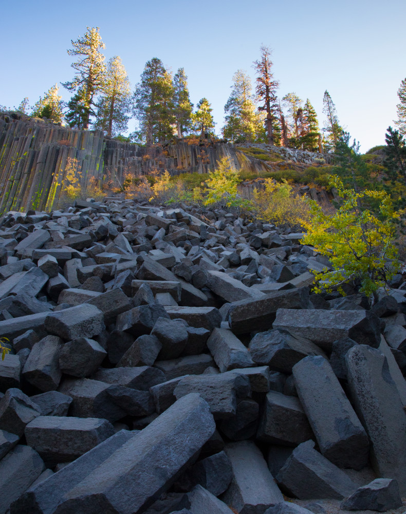 Devils Postpile Fall Photography Art | Leiken Photography