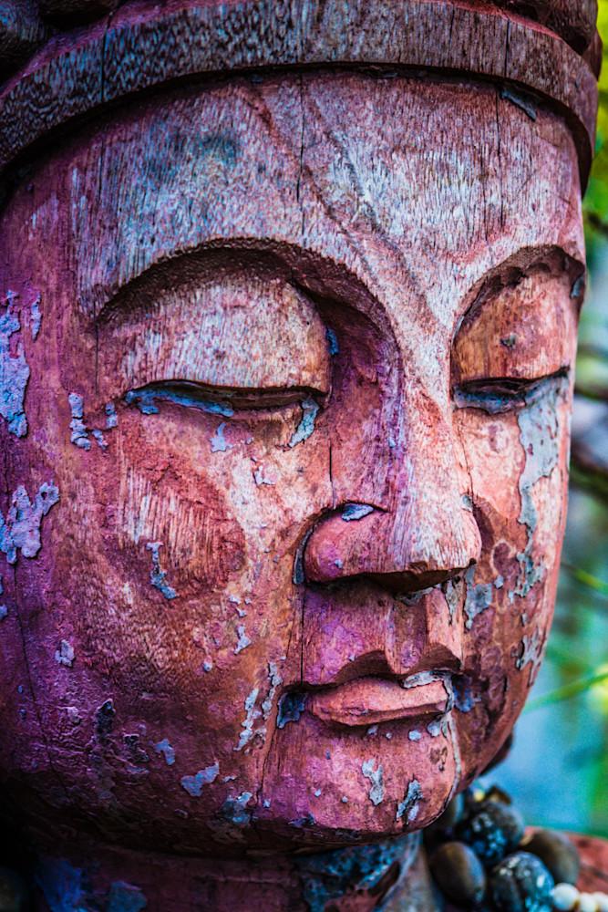 Buddha Face Of Serenity Photography Art | BenjieArts