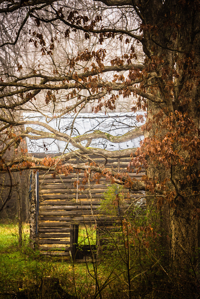 Ghost Of Daddys Tobacco Barn Photography Art | BenjieArts