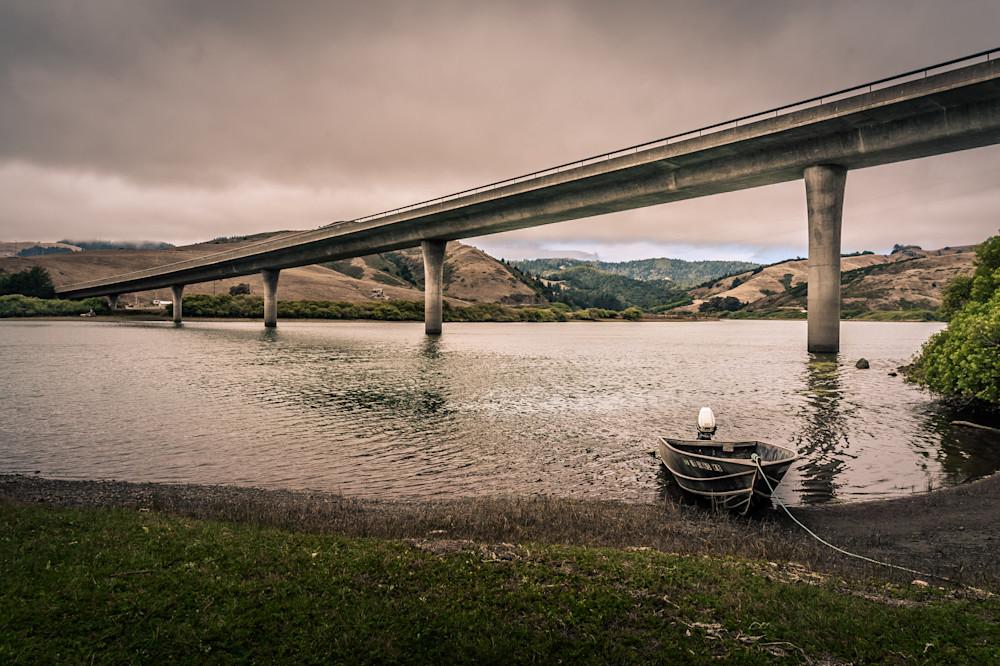 Russian River at Jenner Bridge