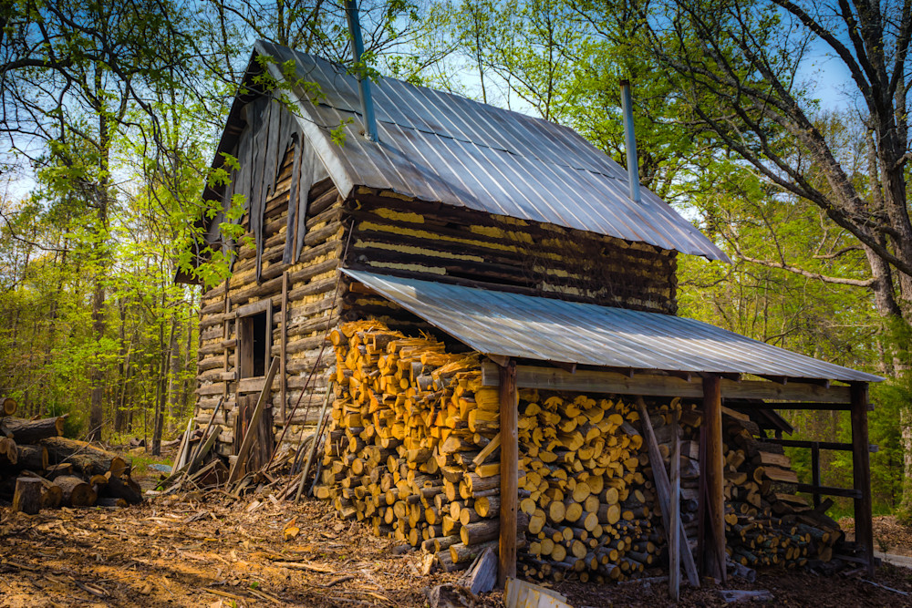 Tobacco Barn and Firewood