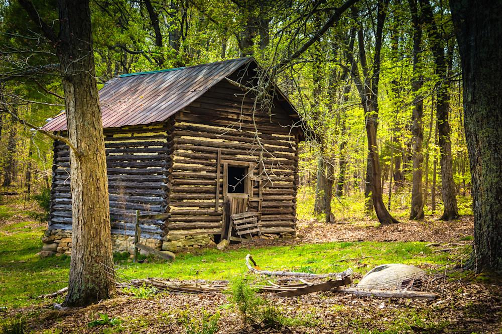 Old Tobacco Barn in Spring