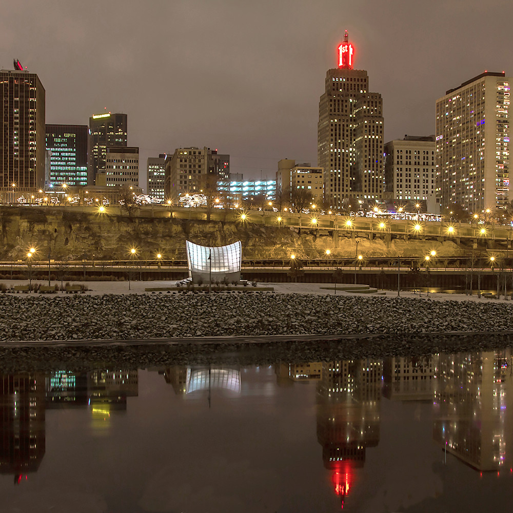 Reflections of Saint Paul 2 - Urban Cityscapes | William Drew