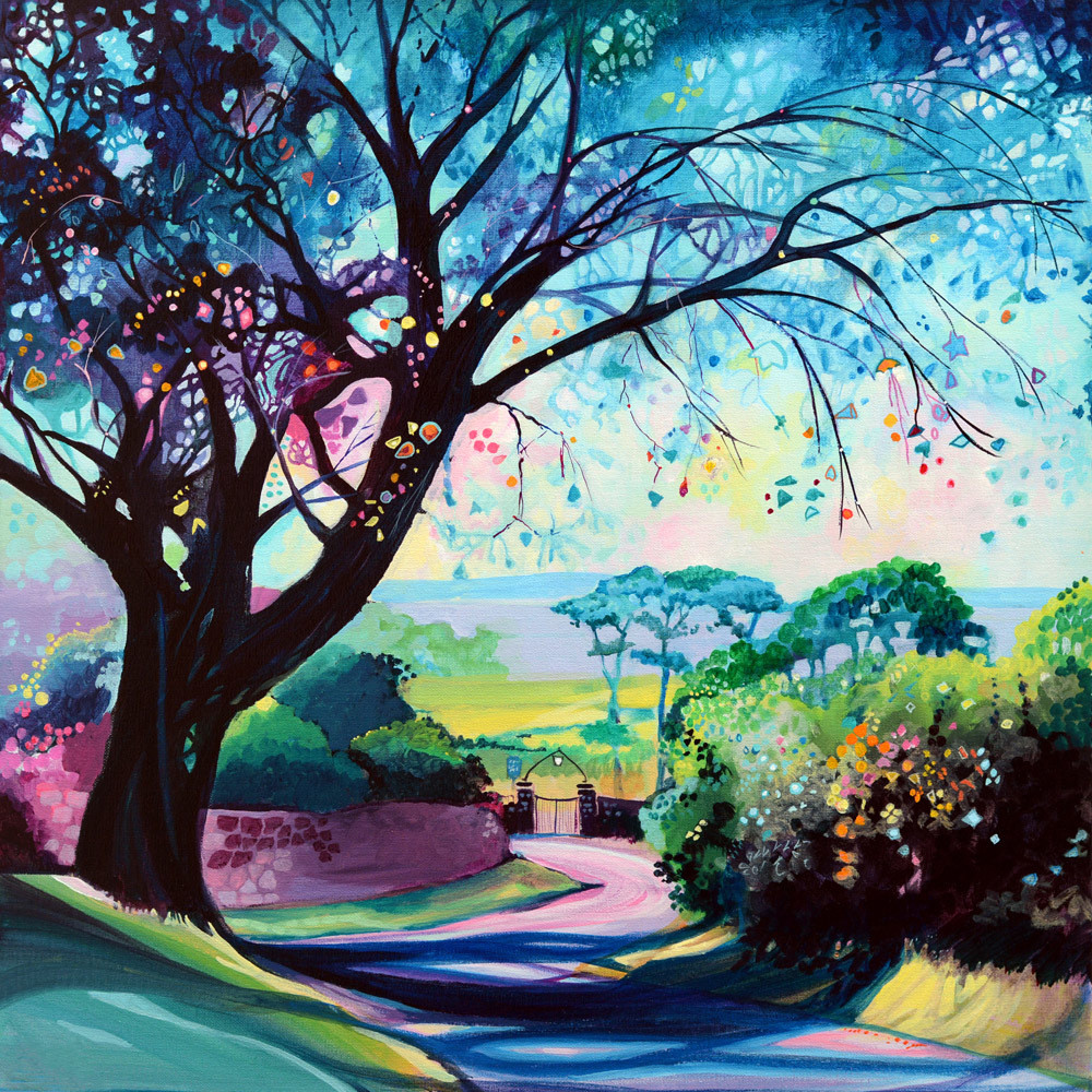 Tree Gower Art Print
