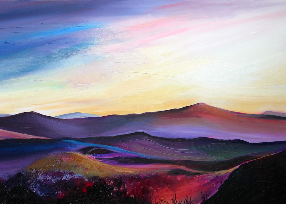 Sugarloaf Mountain Abergavenny Art Print