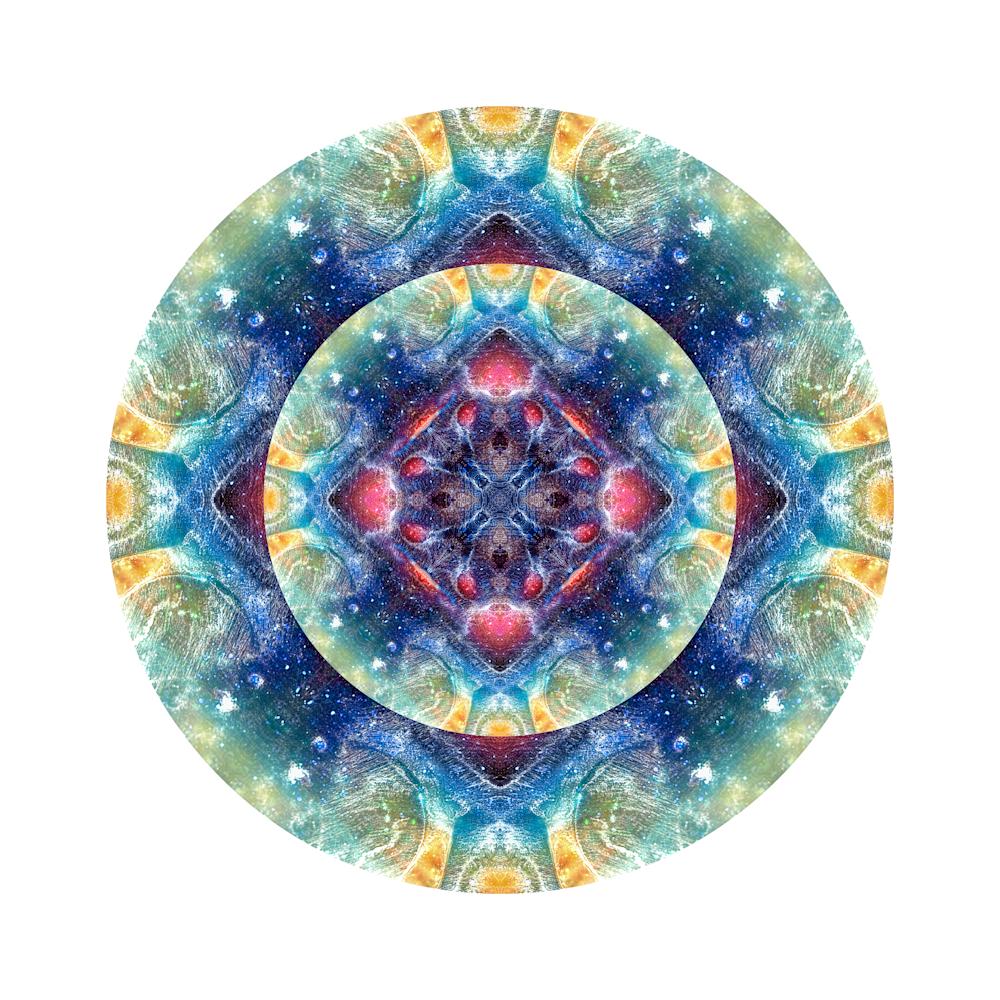 Modern Mandalas | Pareidolia Discs | Cameron Emmanuel