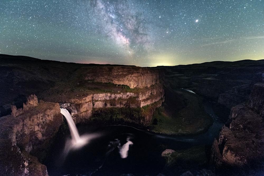 Milky Way Palouse Falls