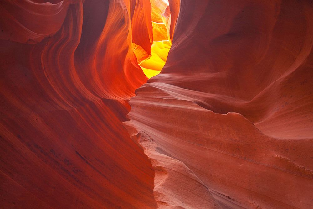 Antelope Canyon - Distant Light Photo Print