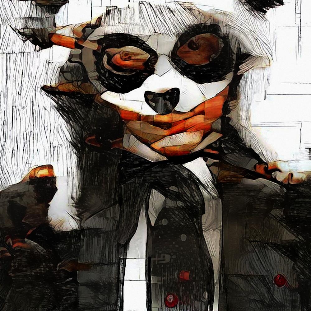 Panda Man Art | SkotoArt
