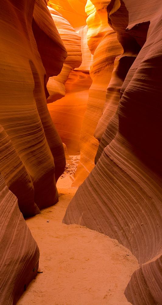 Antelope Canyon - Path Pano Photo Print