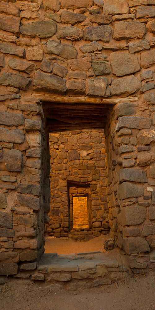 Aztec Doorway Pano