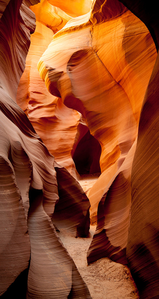 Antelope Canyon - Rabbit Pano Photo Print