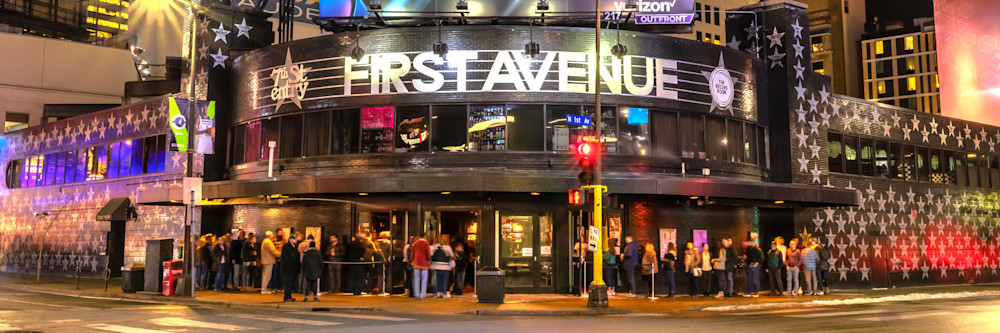 First Avenue 2 - Minneapolis Photographs | William Drew Photography