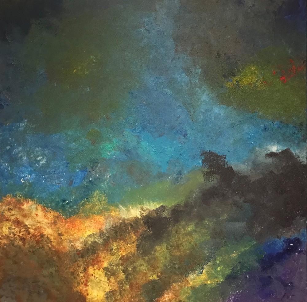Swim In A Colorful Lagoon Left Art | Marci Brockmann Author, Artist, Podcaster & Educator