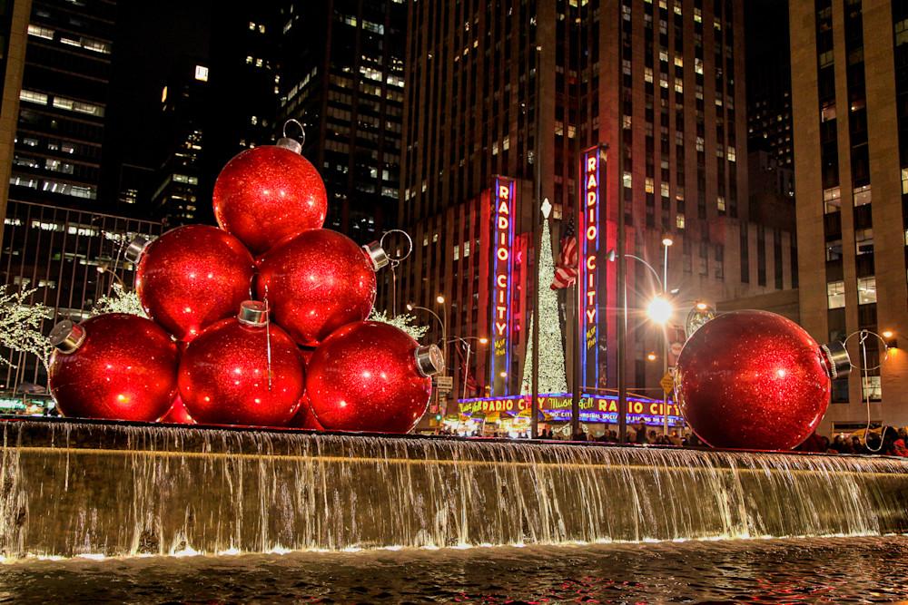 Giant Christmas Ornaments 2 Prints