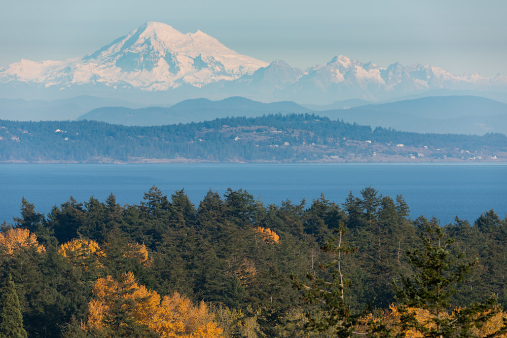 """Mount Baker Fall"" Photograph for Sale as Fine Art."