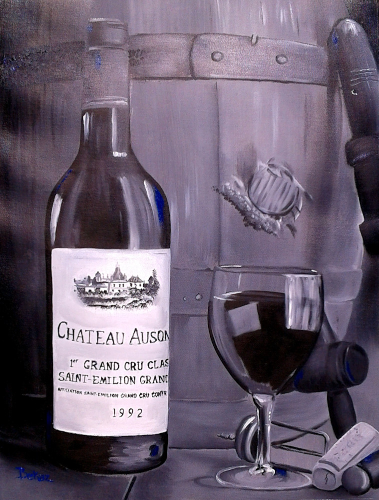 french wine chateau ausone 1992