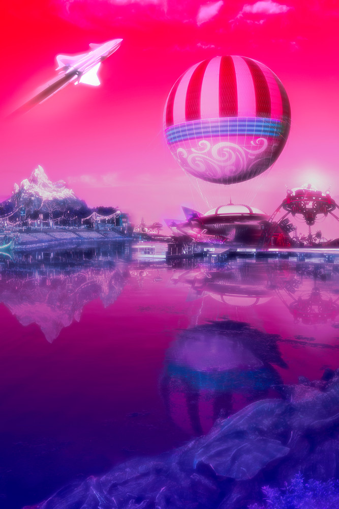 Synthwave Disney
