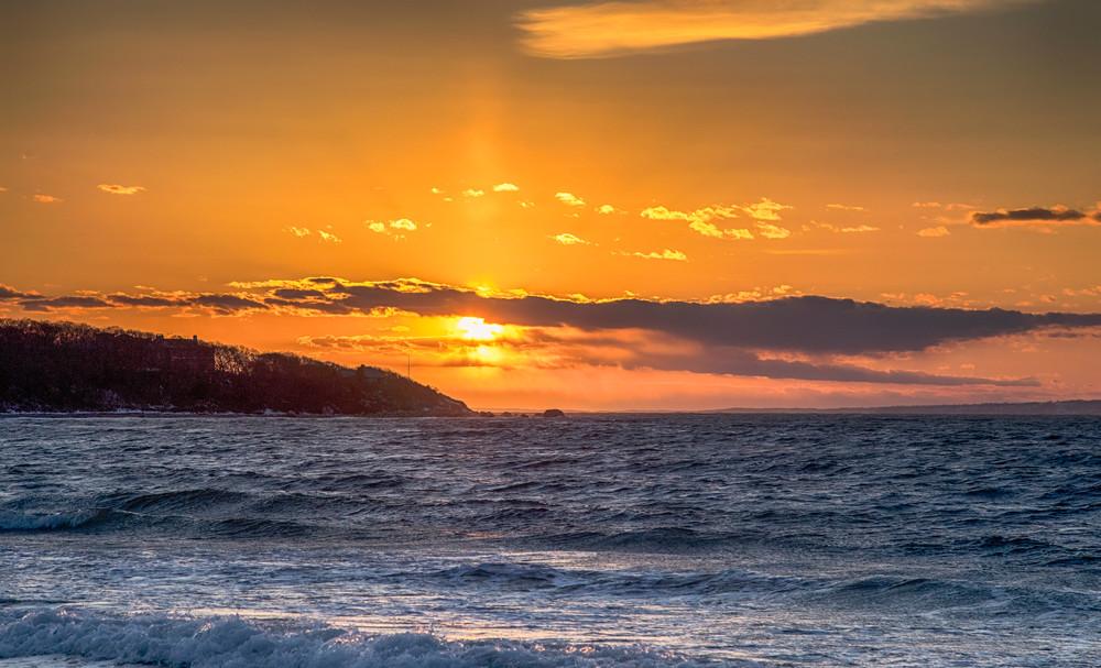 Lambert s Cove Winter Sunset
