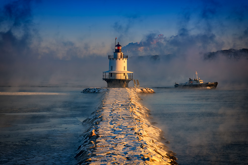 Passing The Lighthouse, by Rick Berk