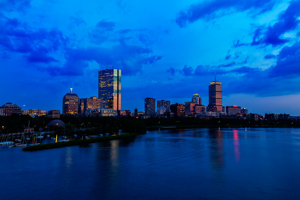 Boston Evening, by Rick Berk