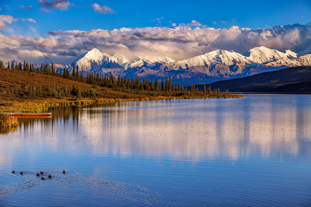 Wonder Lake Alaska by Rick Berk