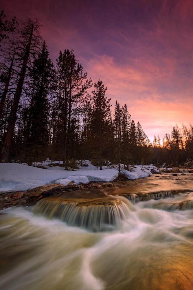 Uinta Waterfall Photography Art | Johnny Adolphson Photography